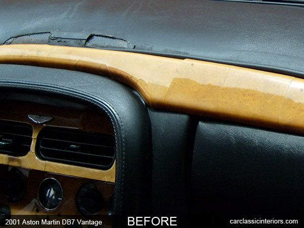 Aston Martin restoration | reupholster Aston Martin upholstery