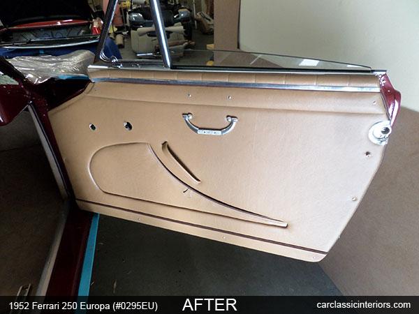 ferrari restoration ferrari interior upholstery gran turismo gt. Black Bedroom Furniture Sets. Home Design Ideas