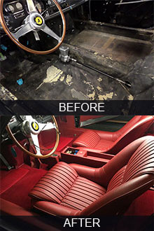 auto upholstery restoration los angeles car classic interiors. Black Bedroom Furniture Sets. Home Design Ideas