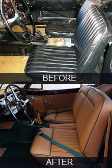 Auto Upholstery Restoration Los Angeles Car Classic Interiors