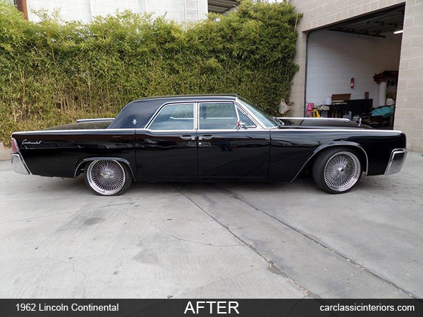 Lincoln Continental Restoration Reupholster Lincoln Continental