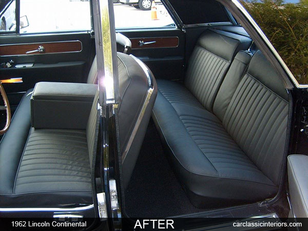 lincoln continental restoration reupholster lincoln continental upholstery. Black Bedroom Furniture Sets. Home Design Ideas