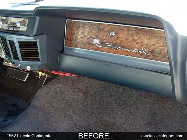 Lincoln Continental Restoration Reupholster Lincoln