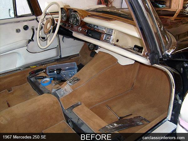 Mercedes benz restoration reupholster mercedes benz for Mercedes benz upholstery repair