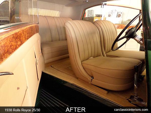 Rolls Royce Restoration Rolls Royce Interior Upholstery