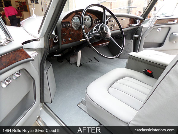 Rolls-Royce restoration   Rolls-Royce interior upholstery & woodwork